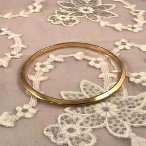 Monet Vintage Goldtone Polished Bangle Bracelet